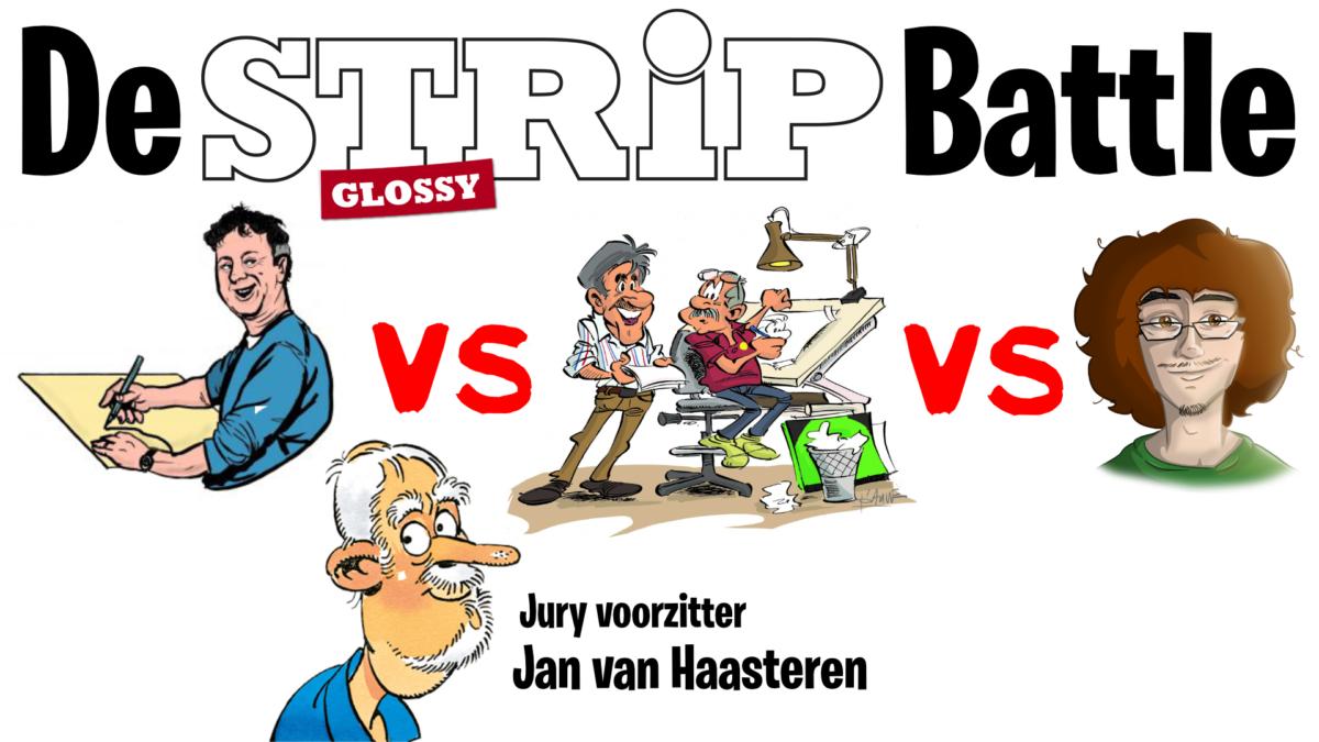 De finale van de Strip Battle LIVE bij de Stripvlogger!